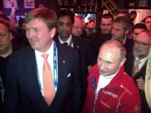 Putin in het HHH, bijzonder!